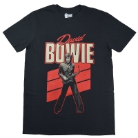 DAVID BOWIE Red Sax Tシャツ