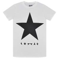 DAVID BOWIE Black Star Tシャツ WHITE