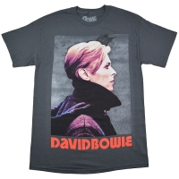 DAVID BOWIE Low Portrait Tシャツ CHARCOAL GREY