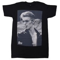 DAVID BOWIE Smoking Photo Tシャツ