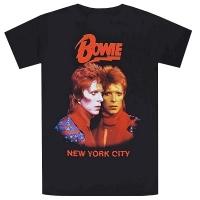 DAVID BOWIE New York City Tシャツ