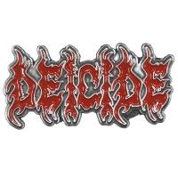 DEICIDE Logo ピンバッジ