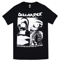 DISCHARGE Hear Nothing Tシャツ