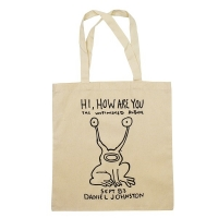 DANIEL JOHNSTON Hi How Are You トートバッグ