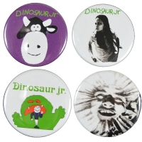 Dinosaur Jr. 4 Button Pack バッジセット