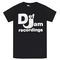 DEF JAM RECORDINGS Classic Logo Tシャツ
