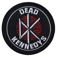 DEAD KENNEDYS Circle Logo Patch ワッペン