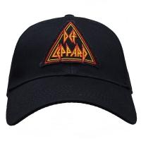 DEF LEPPARD Tri Logo スナップバックキャップ