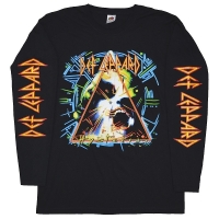 DEF LEPPARD Hysteria ロングスリーブ Tシャツ