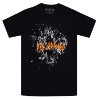 DEF LEPPARD Shatter Logo Tシャツ