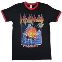 DEF LEPPARD Pyromania トリム Tシャツ