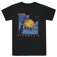 DEF LEPPARD Pyromania Tシャツ
