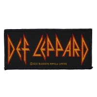 DEF LEPPARD Logo Patch ワッペン