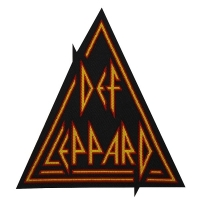 DEF LEPPARD Triangle Logo Patch ワッペン