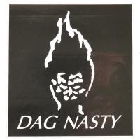 DAG NASTY Flaming Head ステッカー