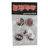 D.R.I Button Pack バッジセット