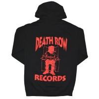 DEATH ROW RECORDS Death Row Logo プルオーバー パーカー