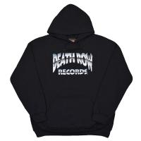 DEATH ROW RECORDS Metallic Logo プルオーバー パーカー