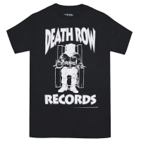 DEATH ROW RECORDS White Logo Tシャツ