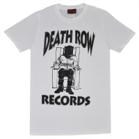 DEATH ROW RECORDS Black Logo Tシャツ