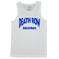 DEATH ROW RECORDS Blue Type Logo タンクトップ