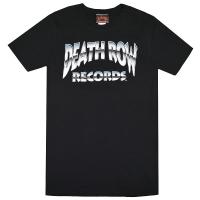 DEATH ROW RECORDS Chrome Logo Tシャツ