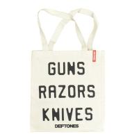DEFTONES Guns Razors Knives トートバッグ