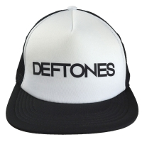 DEFTONES Text Two Tone メッシュキャップ