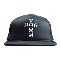 DOGTOWN Cross Logo メッシュキャップ BLACK