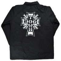 DOGTOWN Cross Logo Windbreaker コーチジャケット BLACK