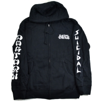 SUICIDAL TENDENCIES × DOGTOWN ZIP フード パーカー