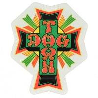 DOGTOWN Cross Logo ステッカー TIE-DYE