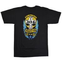 DOGTOWN Bulldog 1976 Colorway Tシャツ BLACK