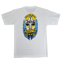 DOGTOWN Bulldog 1976 Colorway Tシャツ WHITE