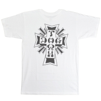 DOGTOWN Cross Logo Tシャツ WHITE