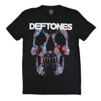 DEFTONES Minerva Rose Skull Tシャツ