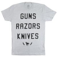 DEFTONES Guns Razors Knives Tシャツ