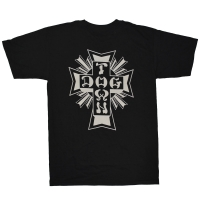 DOGTOWN Cross Logo Tシャツ BLACK