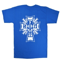 DOGTOWN Cross Logo Tシャツ ROYAL BLUE