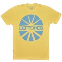 DEFTONES Sun Yellow Tシャツ