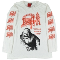 DEATH Scream Bloody Gore ロングスリーブ Tシャツ