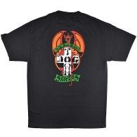 DOGTOWN Red Dog Tシャツ BLACK
