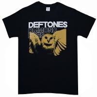 DEFTONES Sepia Owl Tシャツ