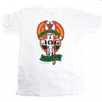 DOGTOWN Red Dog Tシャツ WHITE