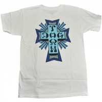 DOGTOWN Cross Logo Color Tシャツ WHITE