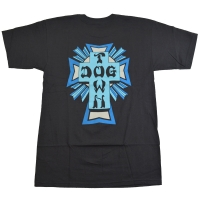 DOGTOWN Cross Logo Color Tシャツ BLACK