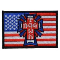 DOGTOWN Flag 刺繍 ワッペン