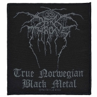 DARKTHRONE Black Metal Patch ワッペン