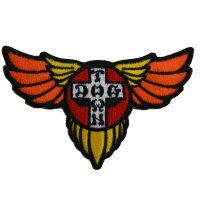 DOGTOWN Wing Cross 刺繍 ワッペン