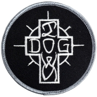 DOGTOWN Embroidered Ese Cross ワッペン